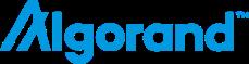 blue algorand logo